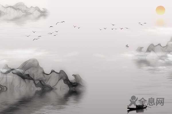 水墨画,中国风的极致之美
