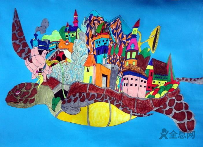 喜迎六一儿童油画:奇思妙想,探寻未知世界