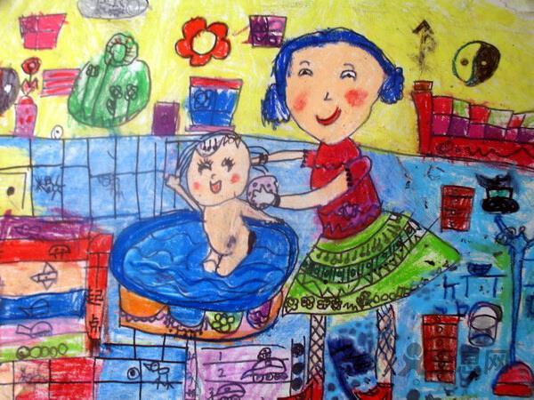 迎六一儿童画:童年记忆中家乡生活的琐碎