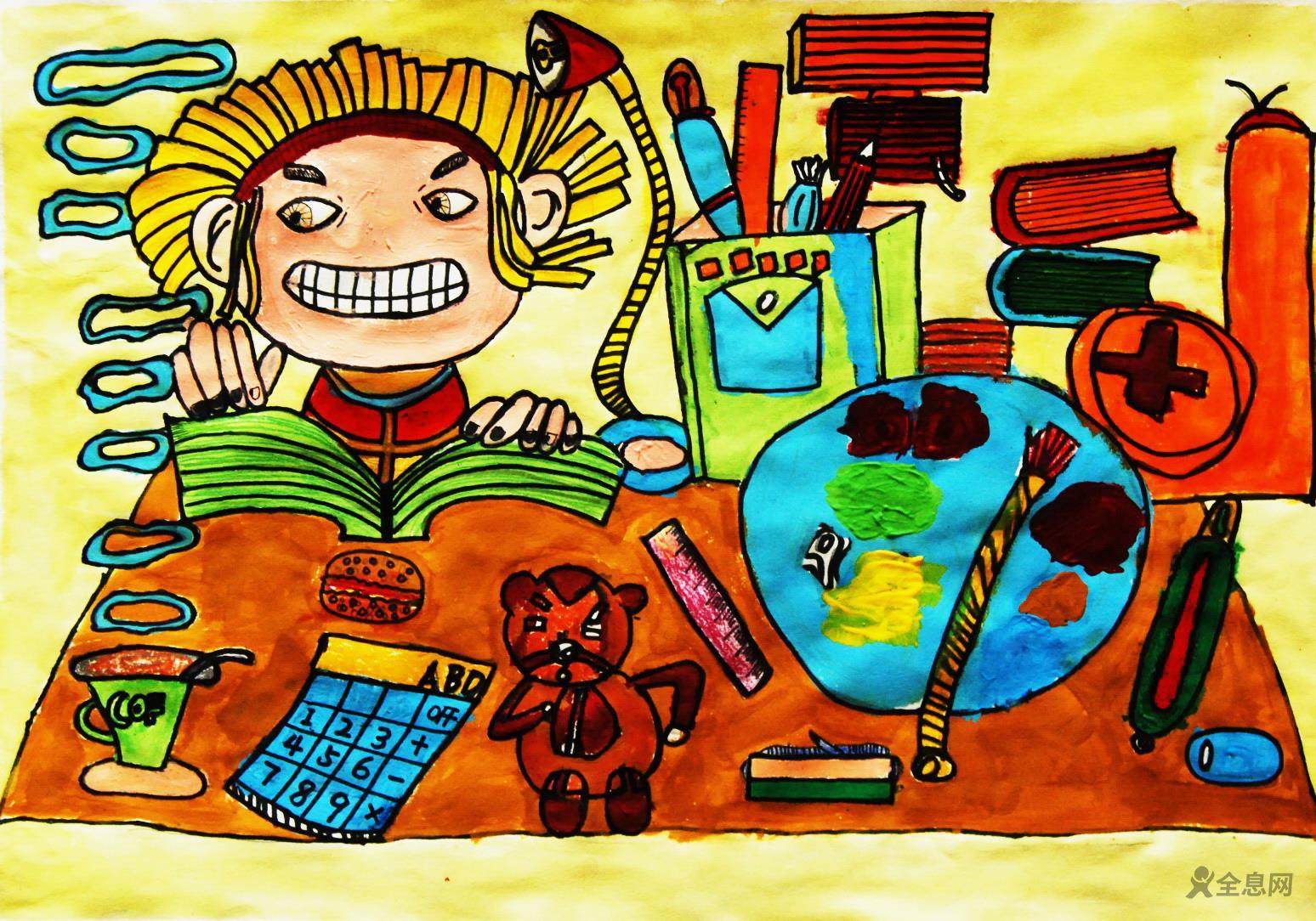 高考在即,学习儿童画祝愿莘莘学子金榜题名