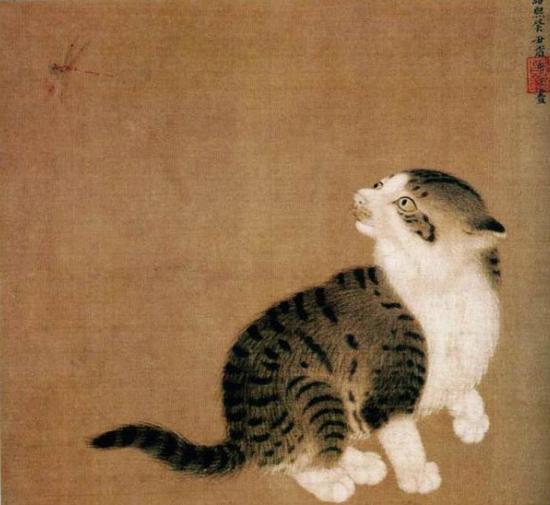 李迪《狸奴小影图》:宋人有多爱猫?