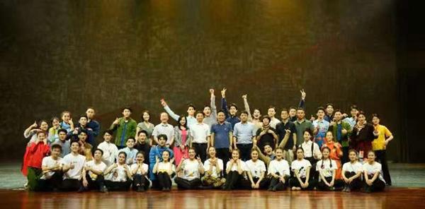 原创舞蹈诗剧《峥嵘岁月》在南京上演