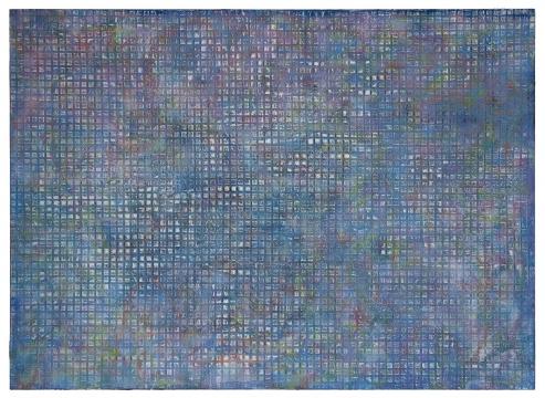 张志坚 《No.138》 300x180cm 油画 2018