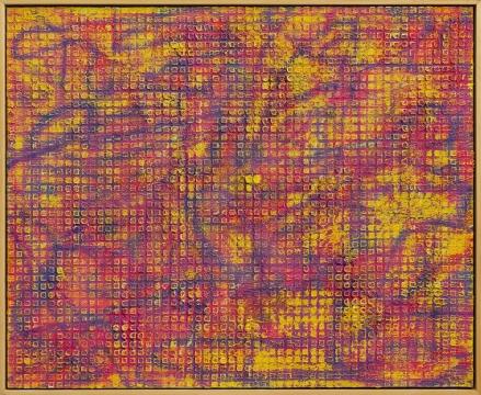 张志坚 《No.131》 130x160cm 油画 2018