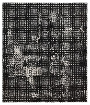 张志坚 《No.147》 120x140cm 油画 2019