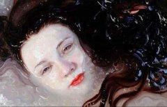 媲美摄影作品的油画作品:水的表现