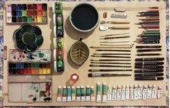 当代油画创作的常用技法